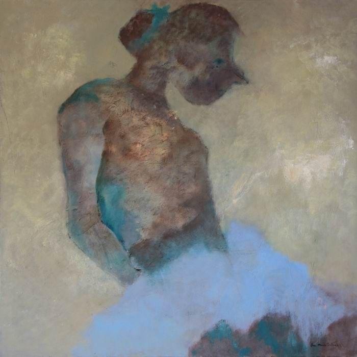 """""""La danseuse"""", peinture d'Anne-Marie Coulomb, à admirer dans la Galerie Polysémie à partir du 3 septembre!"""
