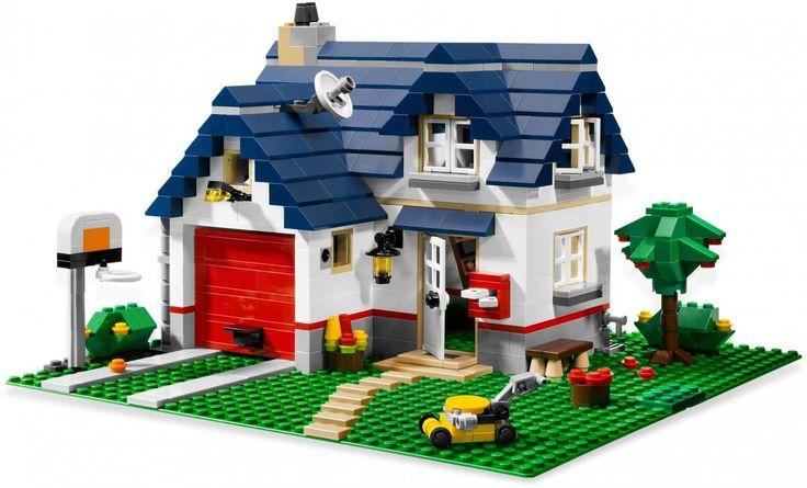LEGO Creator 5891 Huize Appelboom. Nog meer LEGO Creator sets vind je op: https://www.olgo.nl/lego/creator.html