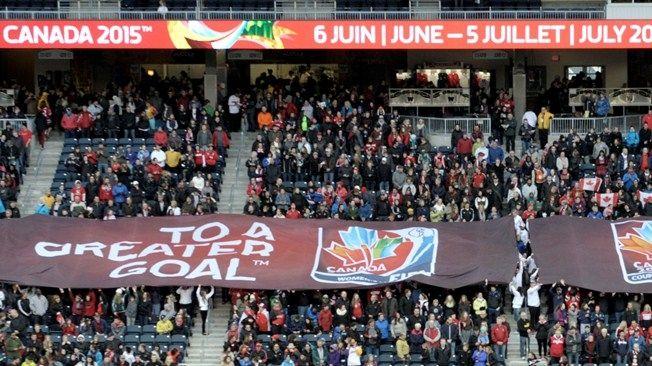 FIFA Women's World Cup Canada 2015 slogan