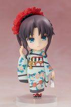 Fate/ Stay Night Chara Forme Plus PVC Statue Rin Tohsaka Kimono Version 10 cm