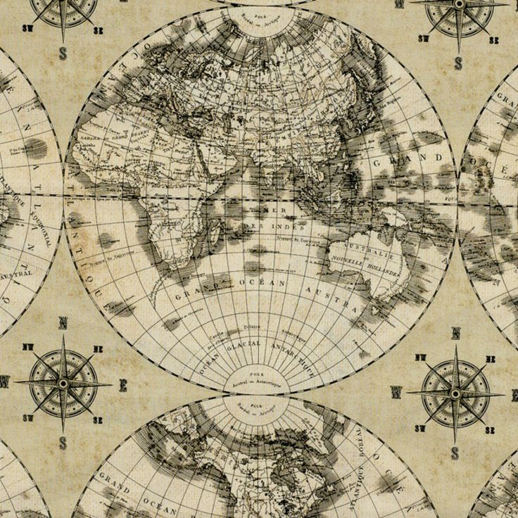World Map Fabric Windham. Globe Cotton Fabric  Windham 89 best images on Pinterest fabric Eye candy and