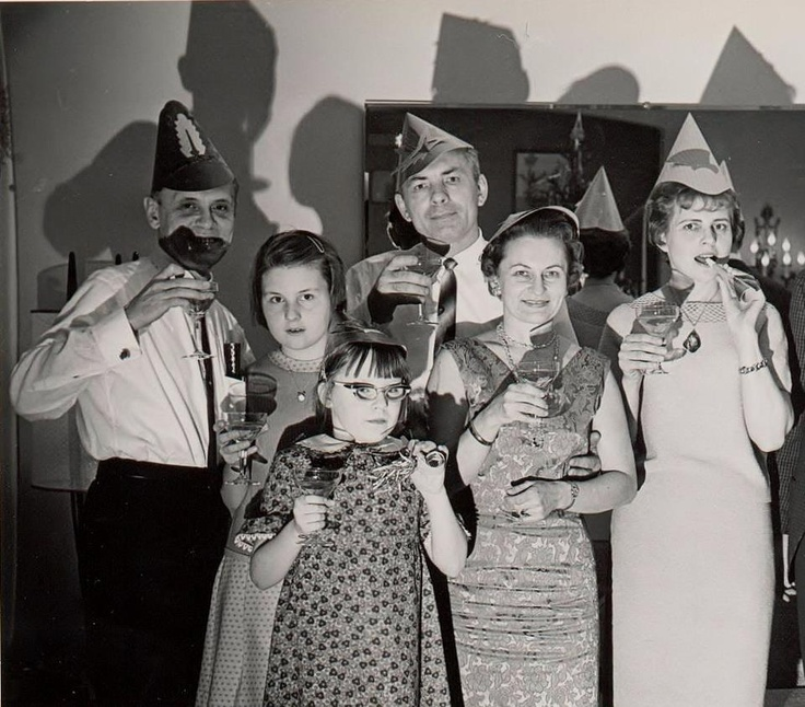 Are we having fun yet ? (1950's) New Year's Eve...