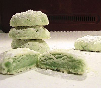 Minty Cool Meltaway Cookies