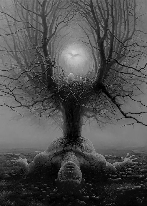 "whitesoulblackheart: ""Reborn by Tomasz Alen Kopera © (Please leave credit … Ƹ̴Ӂ̴Ʒ) """
