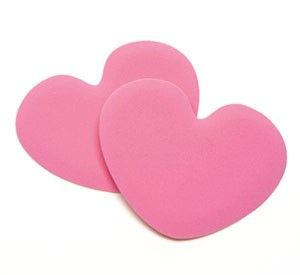 10% of the proceeds from Foot Petals Rose Heart Tip Toes go to Susan G. Komen for the Cure.
