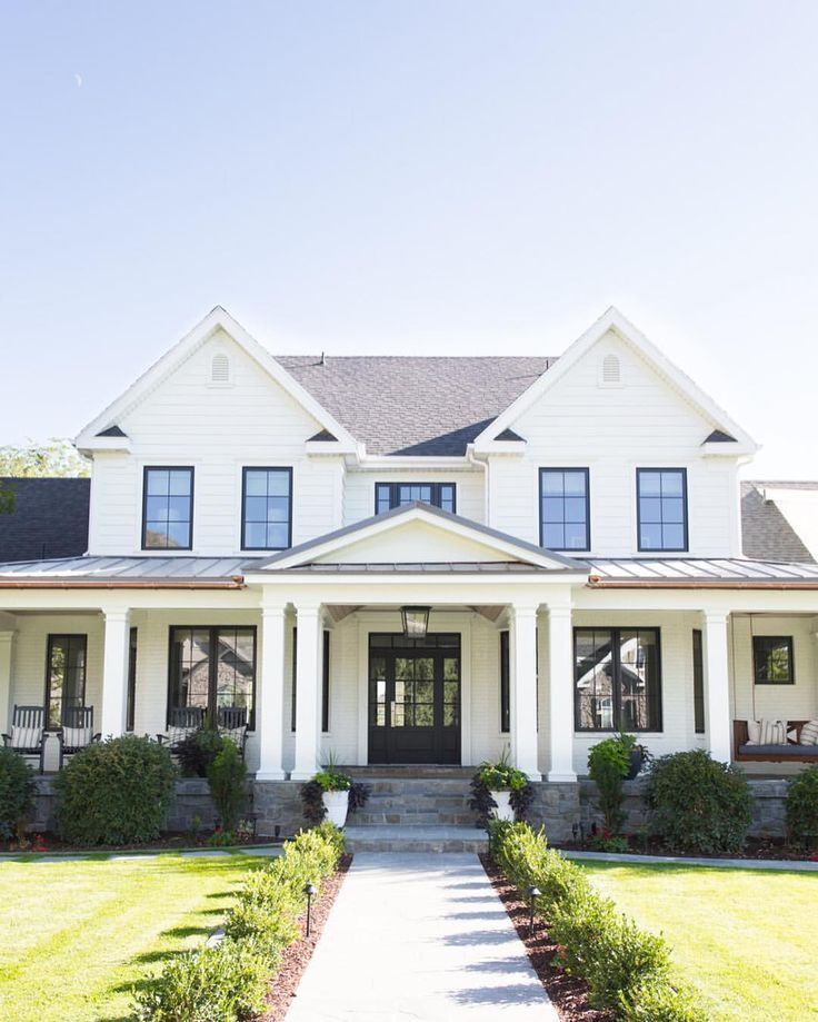 17 Best Ideas About White Exterior Houses On Pinterest