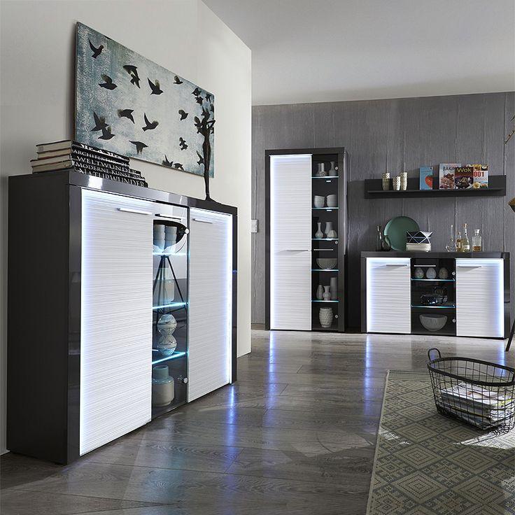 Die besten 25+ Graue vitrinen Ideen auf Pinterest Vitrinen - wohnzimmer vitrine weis hochglanz