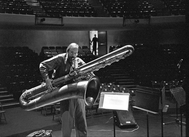 How LOW can you go? Contrabass sax. Largest sax. Titan of all saxes.