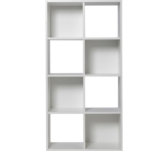 £49.99 Buy HOME Squares 8 Cube Storage Unit - White at Argos.co.uk, visit Argos.co.uk to shop online for Storage units, Storage, Home and garden