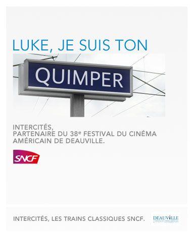 j'ai RI à de l'humour SNCF !!! #tout arrive ! :)    La SNCF fête le Festival du Cinéma Américain de Deauville