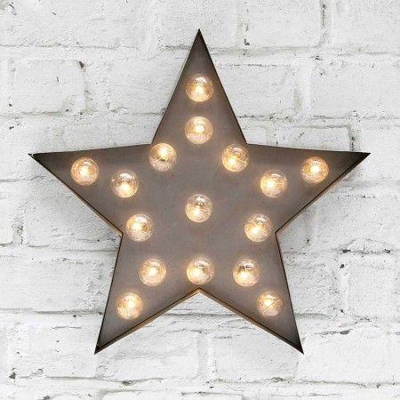 Silver Star Broadway Light - Lighting - Christmas Home - Christmas