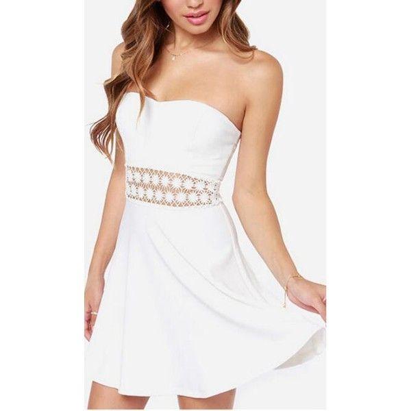 1000  ideas about Strapless Summer Dresses on Pinterest | Summer ...
