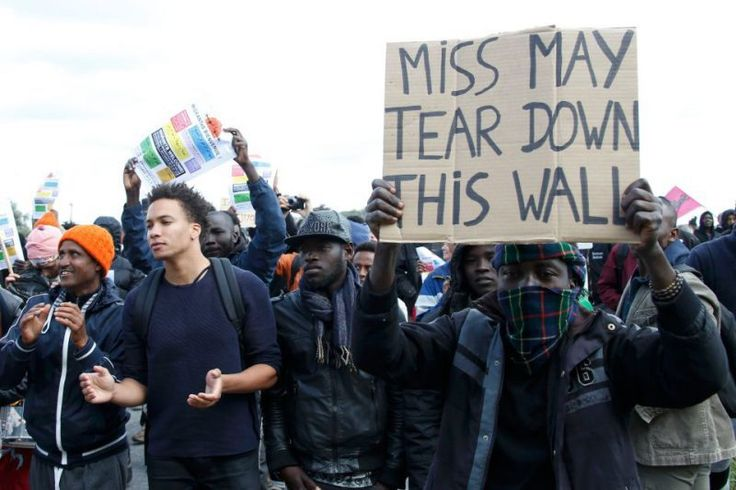 """FRENCH MINISTER says """"Britain has a moral responsibility to take the illegal alien Muslin invaders off our hands"""" - http://www.therussophile.org/french-minister-says-britain-has-a-moral-responsibility-to-take-the-illegal-alien-muslin-invaders-off-our-hands.html/"""
