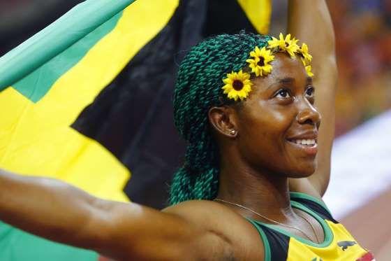 Shelly-Ann Fraser-Pryce - Athlétisme (Jamaïque) - Kai Pfaffenbach / Reuters
