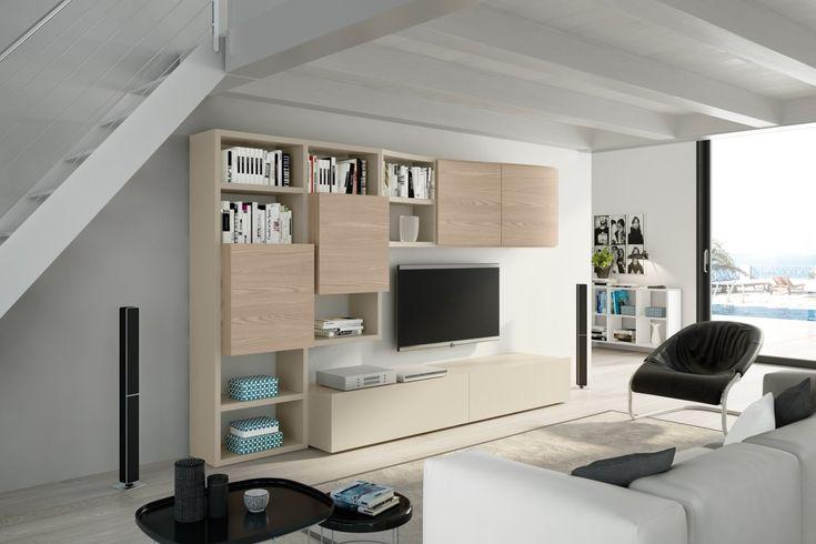 Tomasella propone una composizione in grado di fare della zona giorno uno spazio ben strutturato e arredato con classe, mixando dunque doti di praticità ed estetica. Pin Na Doske For The Home