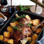 Slow Roasted Rosemary Garlic Lamb Shoulder   RecipeTin Eats