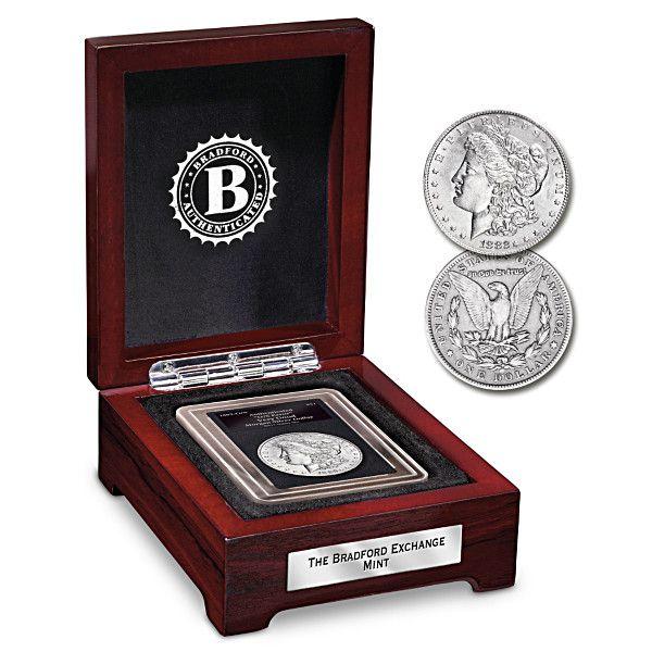 Rare 1882 Double Mint Mark Morgan Silver Dollar Coin Silver Dollar Coin Morgan Silver Dollar Silver Dollar