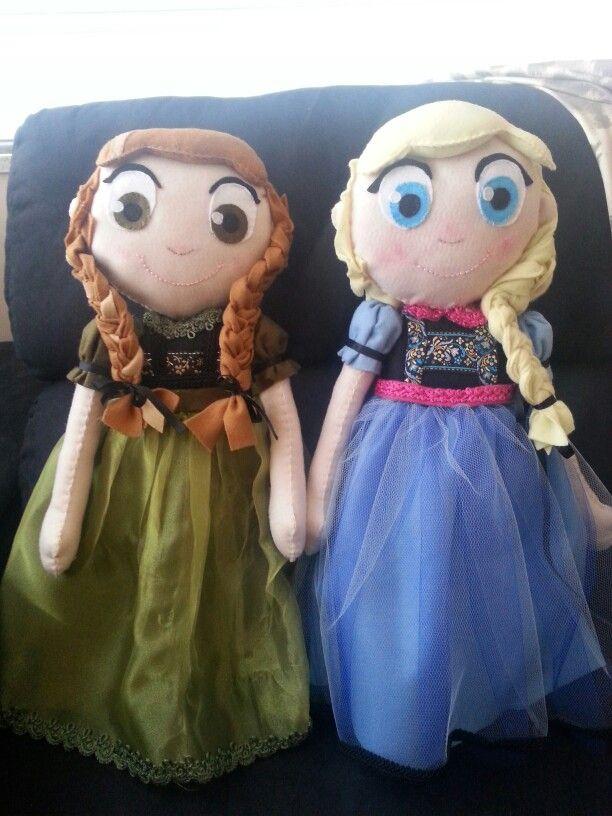 Anna e Elsa Frozen