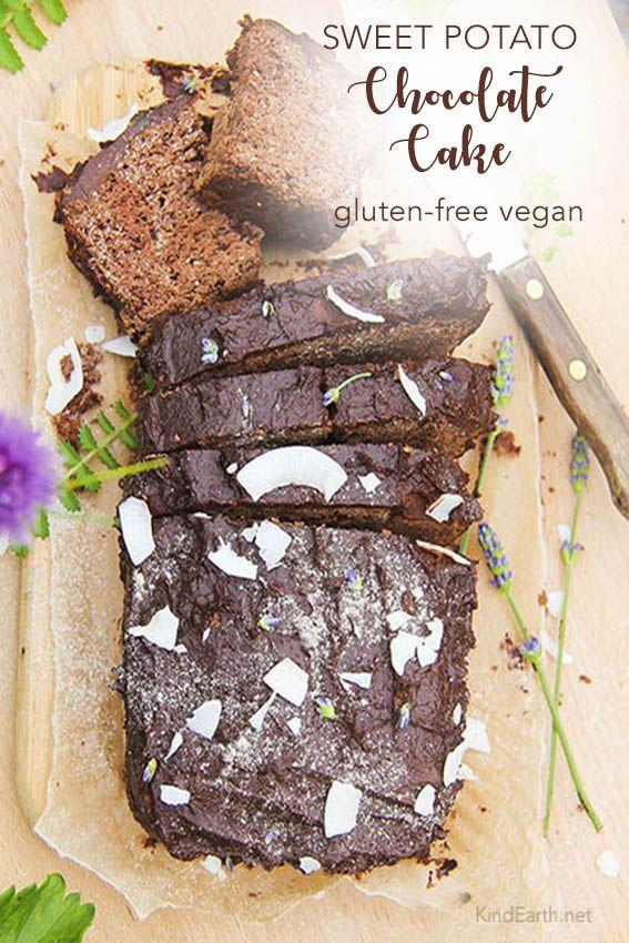 Sweet potato chocolate cake, gluten-free vegan and no refined sugar – delicious …