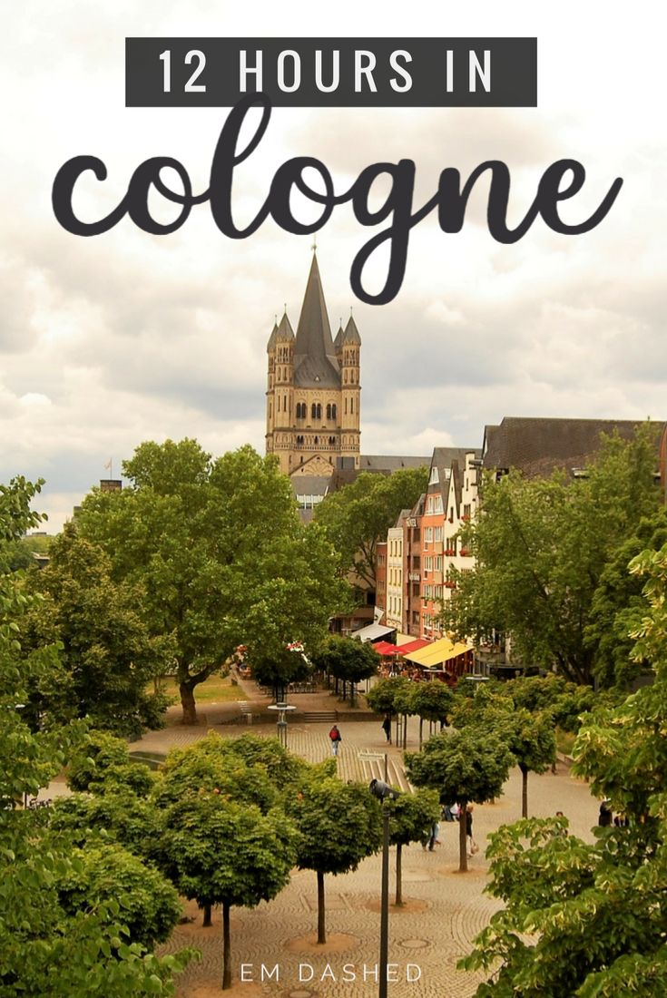 Wondering what to do with just 12 hours in Cologne, Germany? Here are a few suggestions -- including the Kölner Dom, the Hohenzollern Bridge, Kölsch beer, and more.   #Koln #Cologne