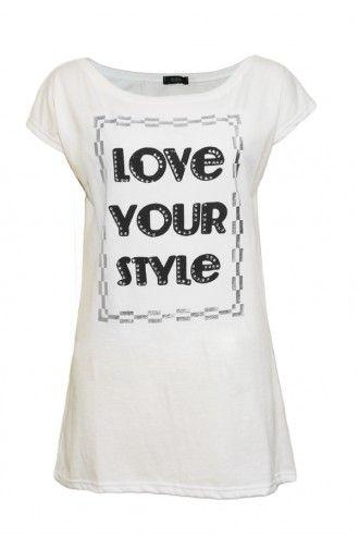 """Μπλούζα Γυναικεία T-Shirt """"New Damdom"""""""