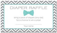 Cute Diapers And Wipes Baby Shower Verses! - Diaper Raffle Ideas & poems and wording ideas!
