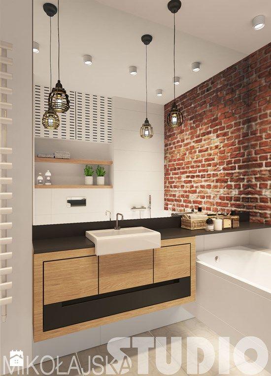minimalistyczna nowoczesna łazienka - zdjęcie od MIKOŁAJSKAstudio