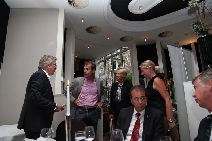 Veel bekenden, waaronder een aantal Roermondse ondernemers - waren van de partij om met ons van gedachten te wisselen over de toekomst van Nederland.