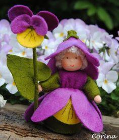 Viltpoppetjes Maken   Het popje van de maand mei heb ik al klaar!!