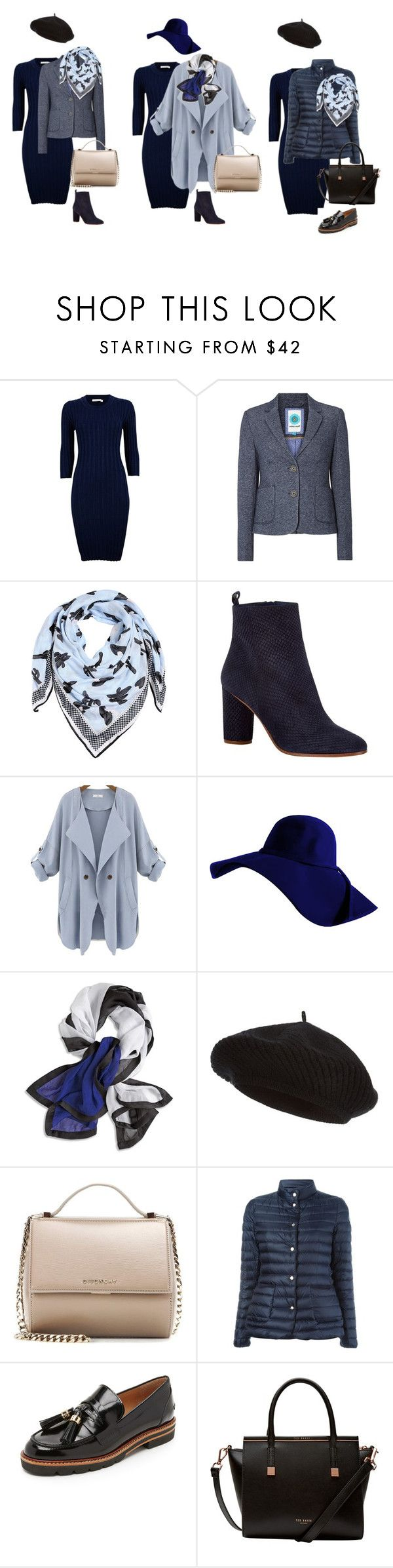 """образы на основе платья"" by mantissa-silver on Polyvore featuring мода, White Stuff, Kenzo, Maje, Chico's, Harrods, Givenchy, Moncler, Stuart Weitzman и Ted Baker"
