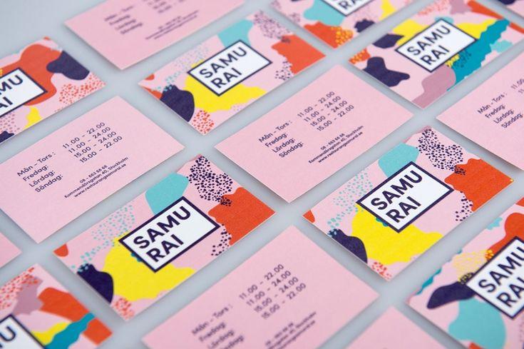 Bold yet playful brand identity for Japanese sushi restaurant, Samurai | Creative Boom