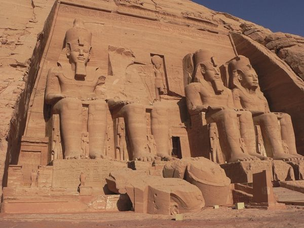 would love to visit the Abu Simbel Temples in Egypt...