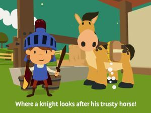 Although it might be a stretch to call it an educational game, wungi Knights is a cute 3D adventure game that follows a knight who goes on a...