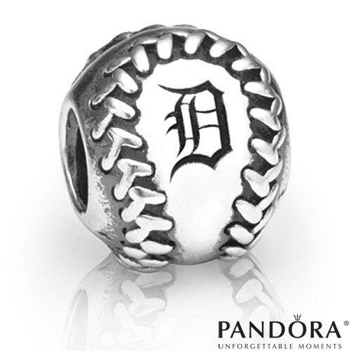 Detroit Tigers MLB Baseball Charm by PANDORA® Jewelry - MLB.com Shop