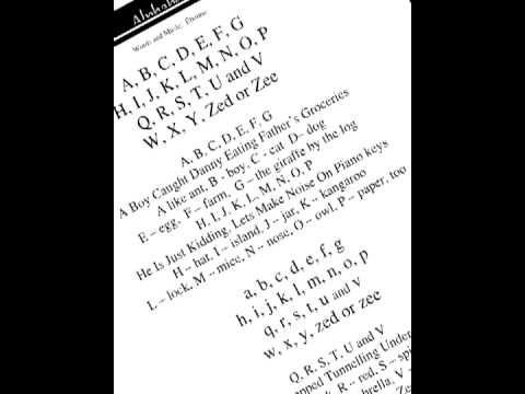 ▶ Etienne - Alphabet (from the cd Grammar Jams) - YouTube