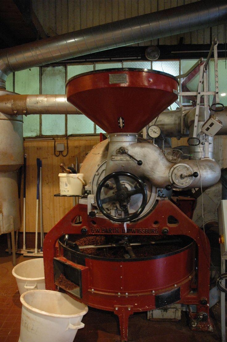 Machine de torréfaction #chocolat Bonnat (à Voiron)