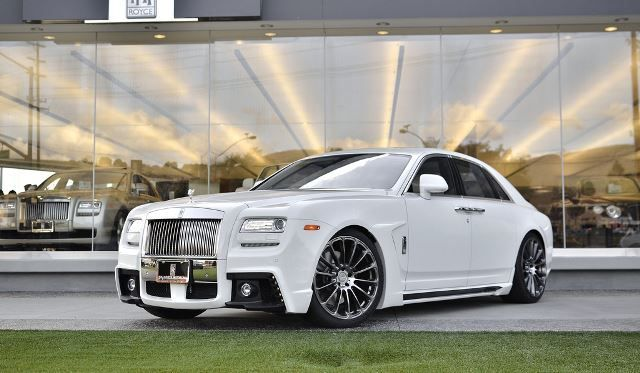Rolls Royce Ghost - Bison