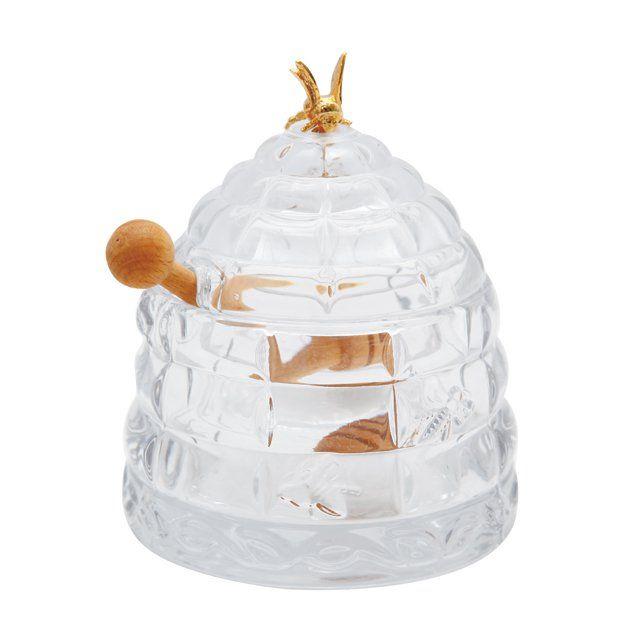 Банка для меда с деревянной палочкой Muza 355-003
