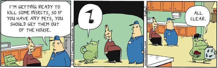 ❤ =^..^= ❤   Scary Gary Comic Strip, May 23, 2012 on GoComics.com