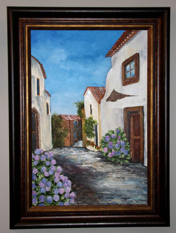 #Siesta - Oil on Canvas Artist: Desire Hanekom