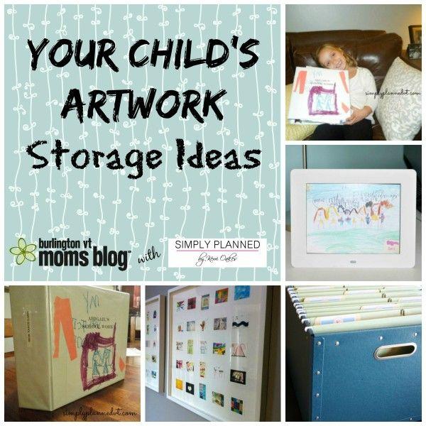 Your Child's Artwork | Burlington VT Moms Blog