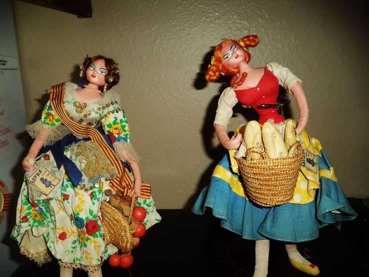 VINTAGE LAYNA DOLLS FROM SPAIN cloth collectable UNIQUE #Dolls