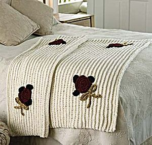 Knitting Pattern For Chenille Throw : Free Knitting Pattern - Afghans & Blankets: Retro Chenille Throw knitti...