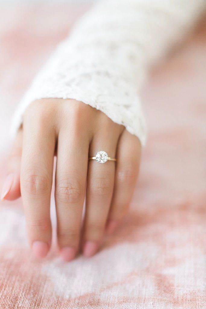 The Fallon Ring Is A Vintage Tiffany Co Engagement Ring From