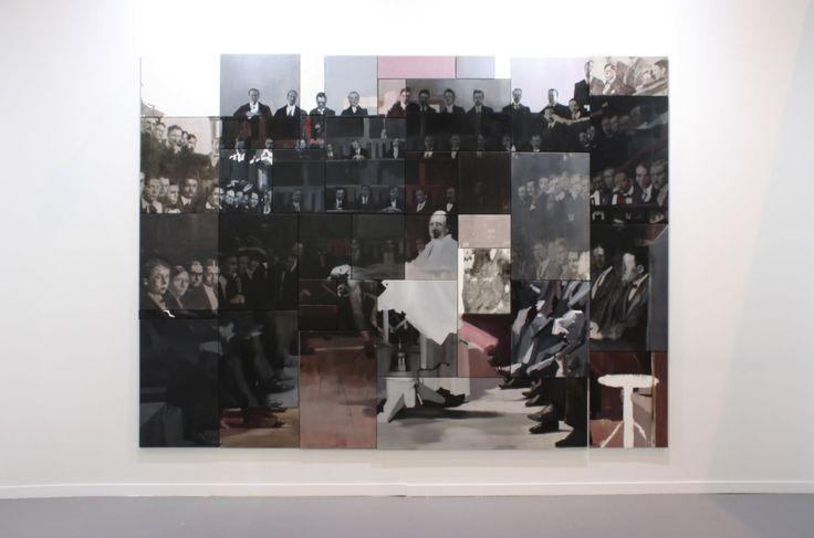 Nacho Martín Silva 41 ways. Oil on canvas. Polyptych 230 x 340 cm. 2014. Nacho Martín Silva