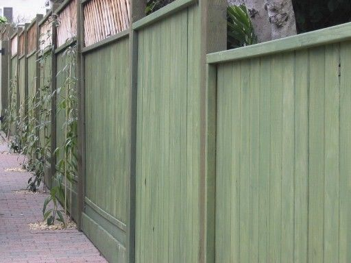 96 Best Painted Fences Images On Pinterest
