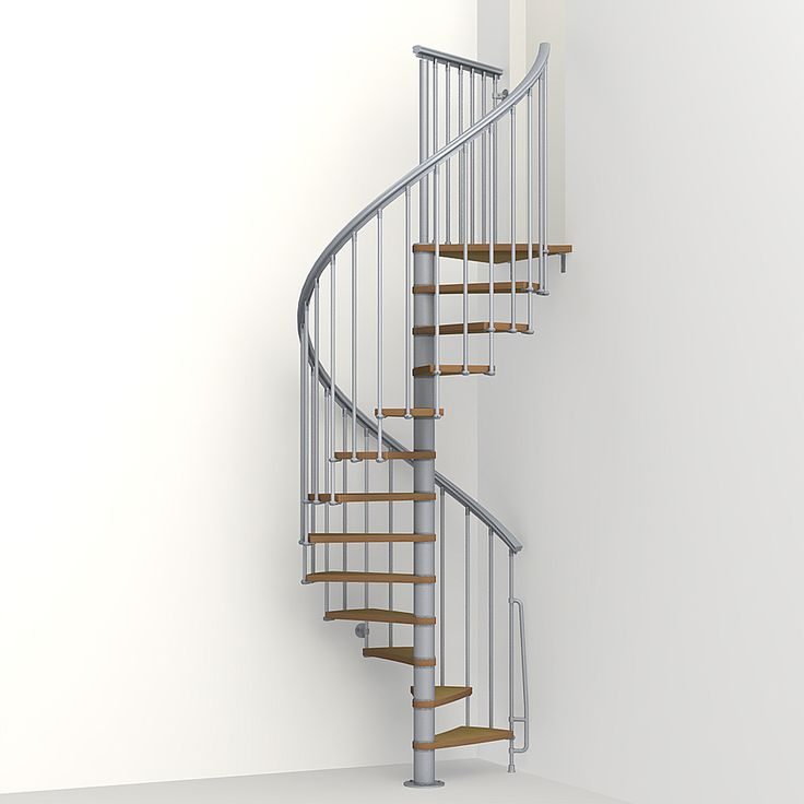 Best Arke Nice1 51 In X 10 Ft Gray Spiral Staircase Kit Lowes 640 x 480