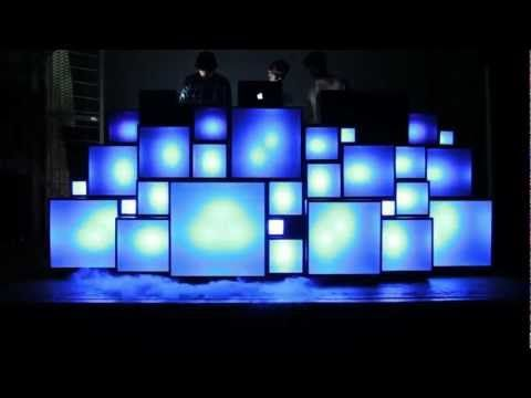Light & sound - love Retro light box with LED colour changing lights all middi up together. Watch the vid.