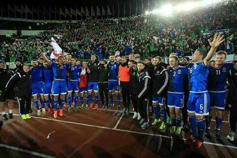 Northern Ireland draw 1-1 away to Finland and finish top of their Euro 2016 qualification group.  It's the first time we've topped a group and also was achieved as a 5th seed when the groups were drawn.