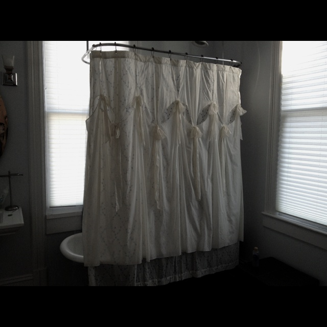 Vintage Anthropologie Shower Curtain N E S T Pinterest